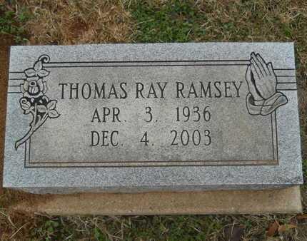 RAMSEY, THOMAS RAY - Union County, Louisiana   THOMAS RAY RAMSEY - Louisiana Gravestone Photos
