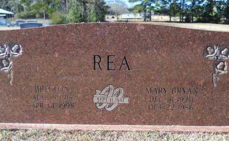 BRYAN REA, MARY - Union County, Louisiana | MARY BRYAN REA - Louisiana Gravestone Photos