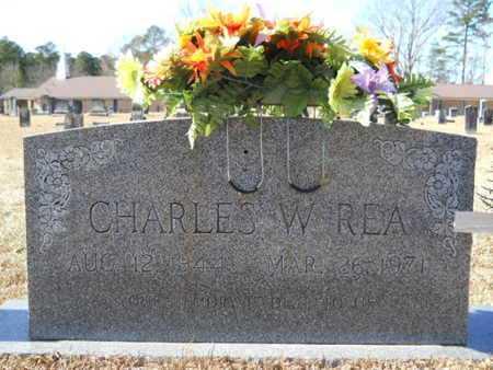REA, CHARLES W - Union County, Louisiana   CHARLES W REA - Louisiana Gravestone Photos