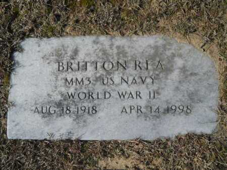 REA, BRITTON (VETERAN WWII) - Union County, Louisiana | BRITTON (VETERAN WWII) REA - Louisiana Gravestone Photos
