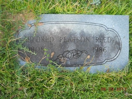 PEARSON REED, MILDRED - Union County, Louisiana | MILDRED PEARSON REED - Louisiana Gravestone Photos