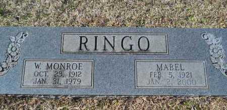 RINGO, MABEL - Union County, Louisiana | MABEL RINGO - Louisiana Gravestone Photos