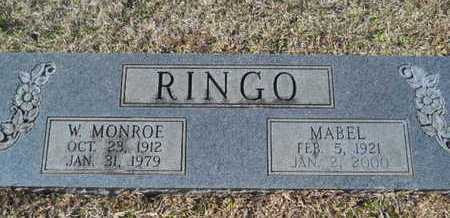 RINGO, W MONROE - Union County, Louisiana | W MONROE RINGO - Louisiana Gravestone Photos