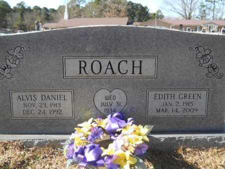 ROACH, ALVIS DANIEL - Union County, Louisiana | ALVIS DANIEL ROACH - Louisiana Gravestone Photos