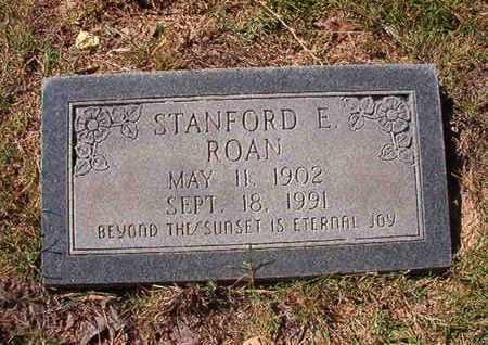 ROAN, STANFORD E - Union County, Louisiana | STANFORD E ROAN - Louisiana Gravestone Photos
