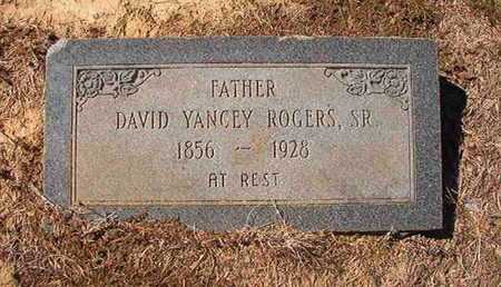 ROGERS, DAVID YANCEY, SR - Union County, Louisiana | DAVID YANCEY, SR ROGERS - Louisiana Gravestone Photos