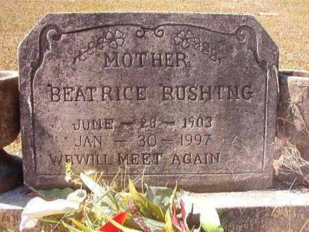RUSHING, BEATRICE - Union County, Louisiana | BEATRICE RUSHING - Louisiana Gravestone Photos
