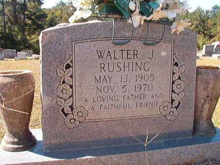 RUSHING, WALTER J - Union County, Louisiana | WALTER J RUSHING - Louisiana Gravestone Photos