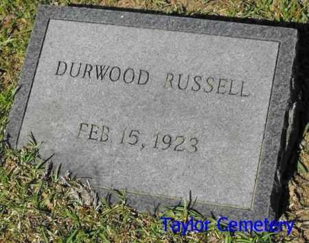 RUSSELL, DURWOOD - Union County, Louisiana | DURWOOD RUSSELL - Louisiana Gravestone Photos