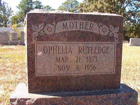 RUTLEDGE, OPHELIA - Union County, Louisiana | OPHELIA RUTLEDGE - Louisiana Gravestone Photos