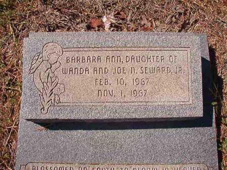 SEWARD, BARBARA ANN - Union County, Louisiana | BARBARA ANN SEWARD - Louisiana Gravestone Photos