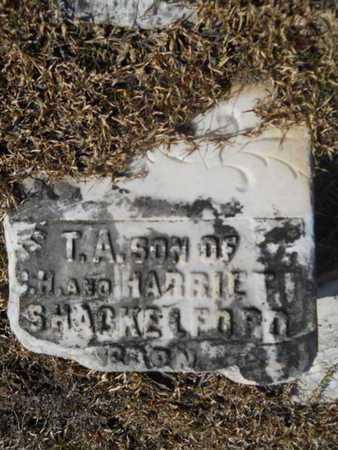 SHACKELFORD, T A - Union County, Louisiana   T A SHACKELFORD - Louisiana Gravestone Photos