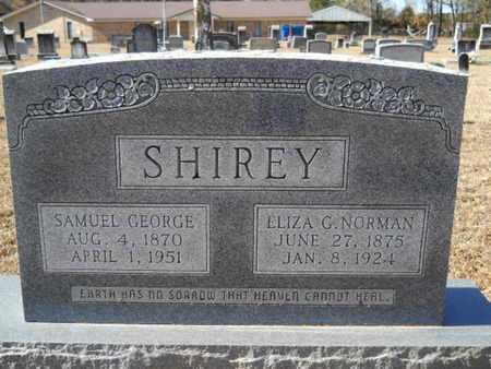 SHIREY, ELIZA G - Union County, Louisiana | ELIZA G SHIREY - Louisiana Gravestone Photos