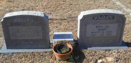 LEE SHIREY, MYRA - Union County, Louisiana   MYRA LEE SHIREY - Louisiana Gravestone Photos