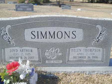 SIMMONS, HELEN - Union County, Louisiana | HELEN SIMMONS - Louisiana Gravestone Photos