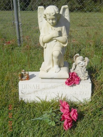 SIMPSON, DINAH JEAN - Union County, Louisiana | DINAH JEAN SIMPSON - Louisiana Gravestone Photos