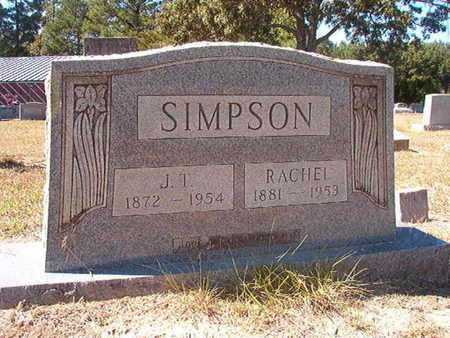 SIMPSON, RACHEL - Union County, Louisiana | RACHEL SIMPSON - Louisiana Gravestone Photos