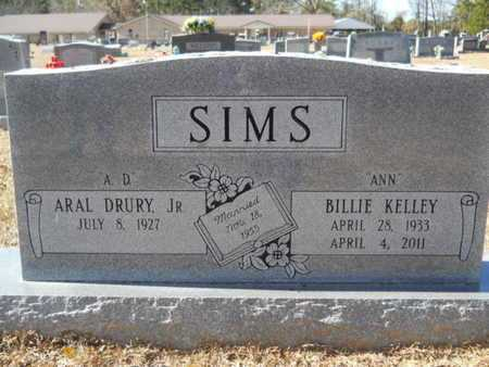 "SIMS, BILLIE ""ANN"" - Union County, Louisiana   BILLIE ""ANN"" SIMS - Louisiana Gravestone Photos"