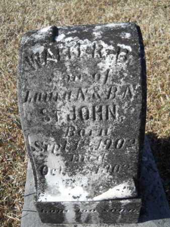 ST JOHN, WALTER B - Union County, Louisiana | WALTER B ST JOHN - Louisiana Gravestone Photos