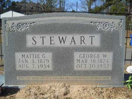 STEWART, MATTIE G - Union County, Louisiana | MATTIE G STEWART - Louisiana Gravestone Photos
