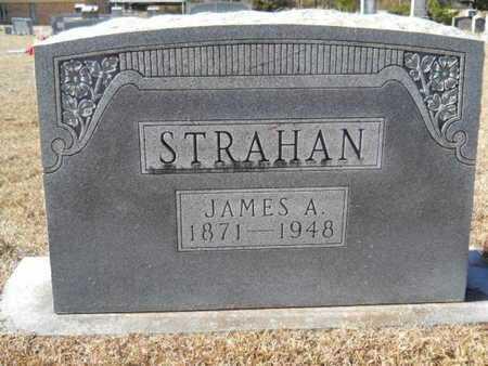 STRAHAN, JAMES A - Union County, Louisiana | JAMES A STRAHAN - Louisiana Gravestone Photos