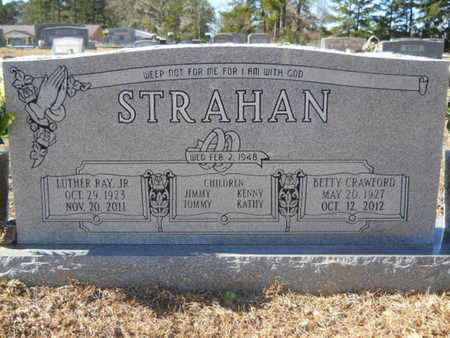 STRAHAN, LUTHER RAY, JR - Union County, Louisiana | LUTHER RAY, JR STRAHAN - Louisiana Gravestone Photos