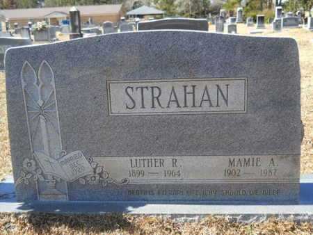 STRAHAN, LUTHER R - Union County, Louisiana | LUTHER R STRAHAN - Louisiana Gravestone Photos