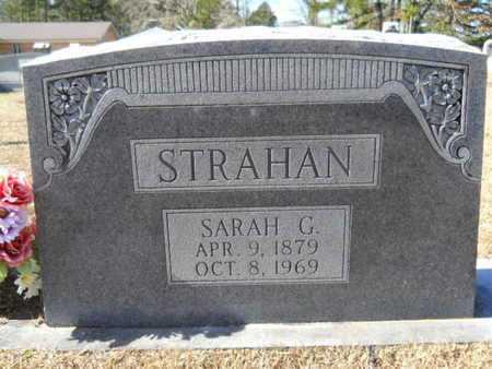 STRAHAN, SARAH G - Union County, Louisiana   SARAH G STRAHAN - Louisiana Gravestone Photos