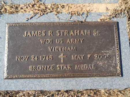 STRAHAN, JAMES R, SR (VETERAN VIET) - Union County, Louisiana   JAMES R, SR (VETERAN VIET) STRAHAN - Louisiana Gravestone Photos