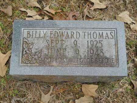 THOMAS, BILLY EDWARD - Union County, Louisiana | BILLY EDWARD THOMAS - Louisiana Gravestone Photos