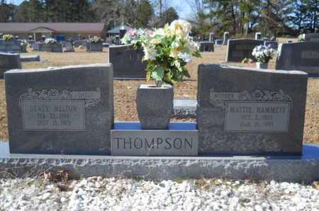 HAMMETT THOMPSON, MATTIE - Union County, Louisiana | MATTIE HAMMETT THOMPSON - Louisiana Gravestone Photos