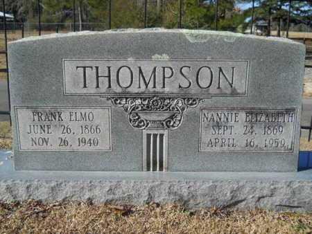 THOMPSON, NANNIE ELIZABETH - Union County, Louisiana   NANNIE ELIZABETH THOMPSON - Louisiana Gravestone Photos