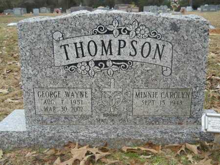 THOMPSON, GEORGE WAYNE - Union County, Louisiana   GEORGE WAYNE THOMPSON - Louisiana Gravestone Photos