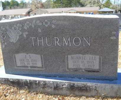 LEE THURMON, MINNIE - Union County, Louisiana | MINNIE LEE THURMON - Louisiana Gravestone Photos