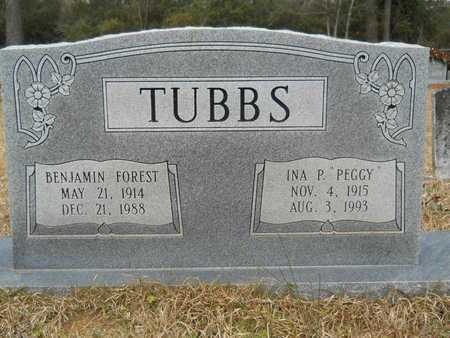 """TUBBS, INA P """"PEGGY"""" - Union County, Louisiana   INA P """"PEGGY"""" TUBBS - Louisiana Gravestone Photos"""