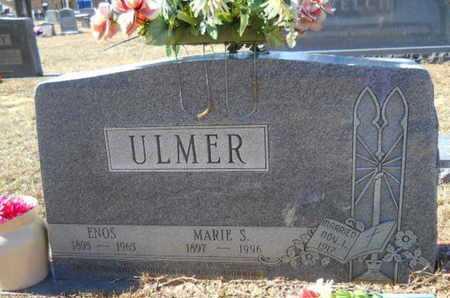 ULMER, ENOS - Union County, Louisiana   ENOS ULMER - Louisiana Gravestone Photos