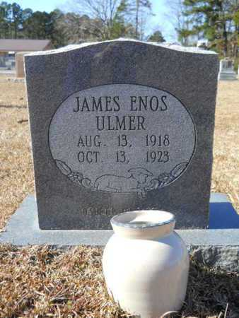 ULMER, JAMES ENOS - Union County, Louisiana | JAMES ENOS ULMER - Louisiana Gravestone Photos