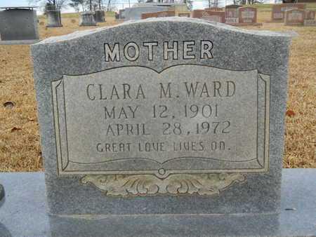 WARD, CLARA M (CLOSE UP) - Union County, Louisiana | CLARA M (CLOSE UP) WARD - Louisiana Gravestone Photos