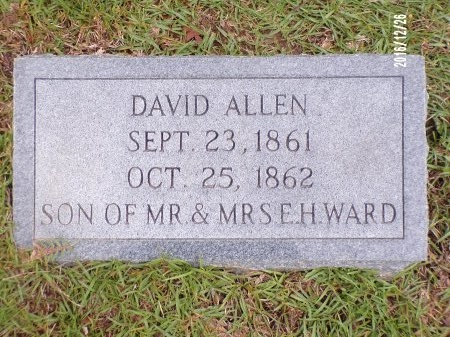 WARD, DAVID ALLEN - Union County, Louisiana | DAVID ALLEN WARD - Louisiana Gravestone Photos