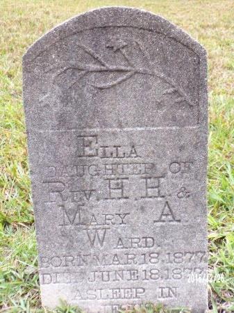 WARD, ELLA - Union County, Louisiana   ELLA WARD - Louisiana Gravestone Photos