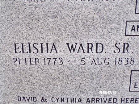 WARD, ELISHA, SR (CLOSE UP) - Union County, Louisiana | ELISHA, SR (CLOSE UP) WARD - Louisiana Gravestone Photos
