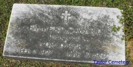 WARD, EMMETT (VRETERAN WWII) - Union County, Louisiana   EMMETT (VRETERAN WWII) WARD - Louisiana Gravestone Photos