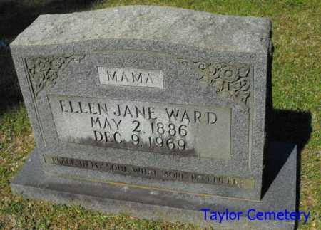 WARD, ELLEN JANE - Union County, Louisiana | ELLEN JANE WARD - Louisiana Gravestone Photos