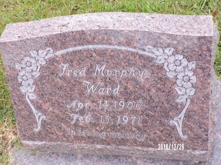 WARD, FRED MURPHY - Union County, Louisiana | FRED MURPHY WARD - Louisiana Gravestone Photos