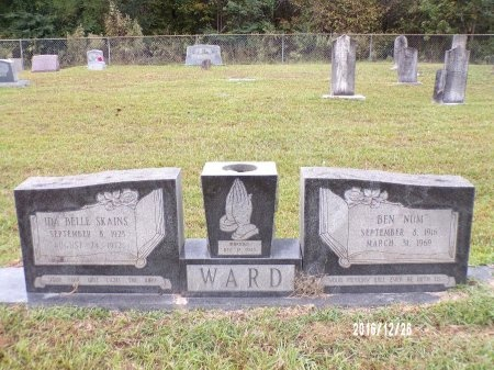 "WARD, BEN ""NUM"" - Union County, Louisiana 