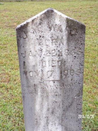 WARD, JOHN MARTIN - Union County, Louisiana | JOHN MARTIN WARD - Louisiana Gravestone Photos