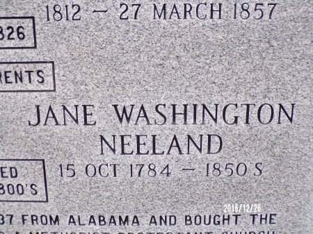 WARD, JANE WASHINGTON (CLOSE UP) - Union County, Louisiana   JANE WASHINGTON (CLOSE UP) WARD - Louisiana Gravestone Photos