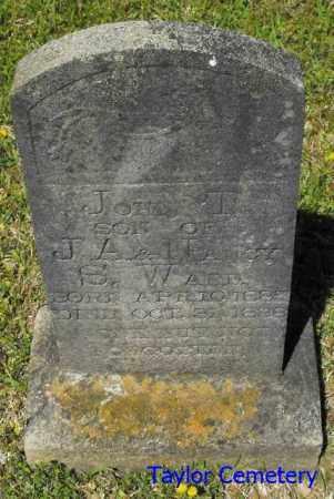WARD, JOHN T. - Union County, Louisiana   JOHN T. WARD - Louisiana Gravestone Photos
