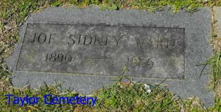 WARD, JOE SIDNEY - Union County, Louisiana | JOE SIDNEY WARD - Louisiana Gravestone Photos