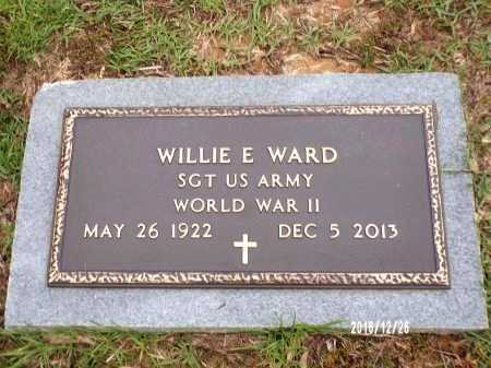 WARD, WILLIE E  (VETERAN WWII) - Union County, Louisiana | WILLIE E  (VETERAN WWII) WARD - Louisiana Gravestone Photos